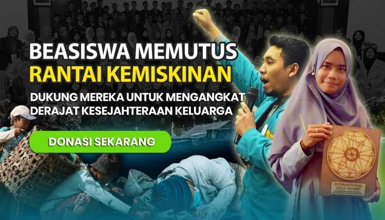 Gambar banner Beasiswa Memutus Rantai Kemiskinan