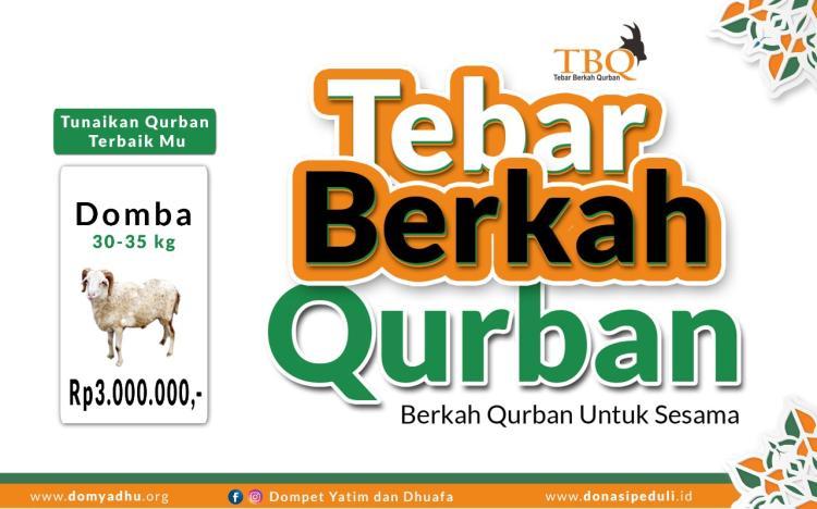 Gambar banner Tebar Berkah Qurban Domba