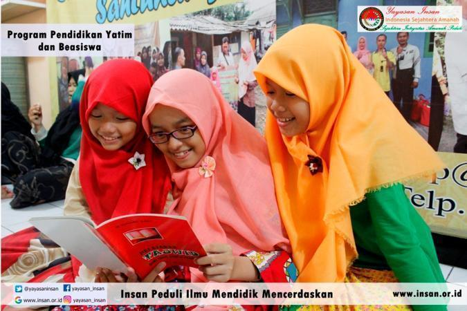 Banner program Beasiswa Yatim Berprestasi
