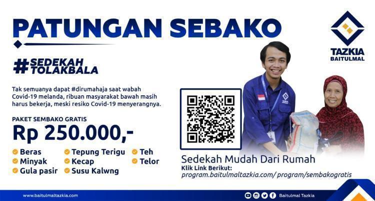 Banner program Patungan Sembako