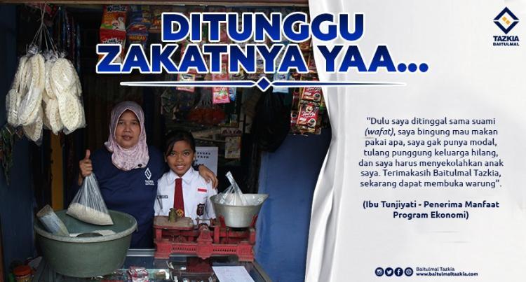 Banner program Sempurnakan Puasa Sahabat Melalui Berzakat