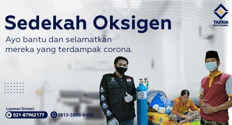 Banner program sedekah oksigen