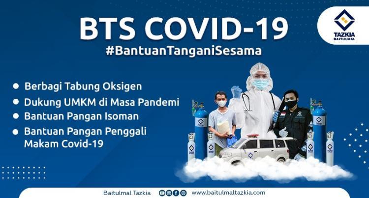 Banner program Bantu Tangani Sesama