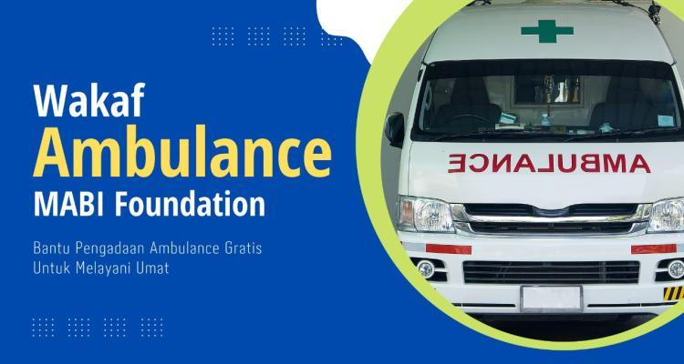 Banner program Yuk, Kontribusi Pengadaan Layanan Ambulance GRATIS
