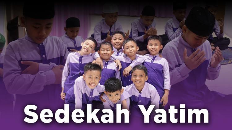 Banner program Sedekah Untuk Yatim dan Dhuafa