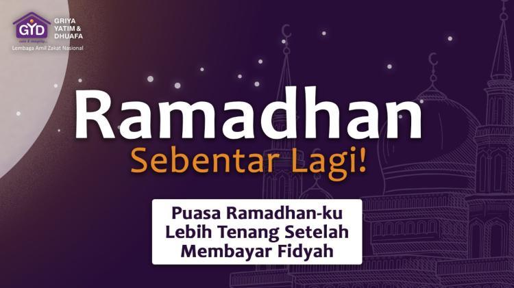 Gambar banner Fidyahmu, Untuk Kebaikan Yatim  Dhuafa