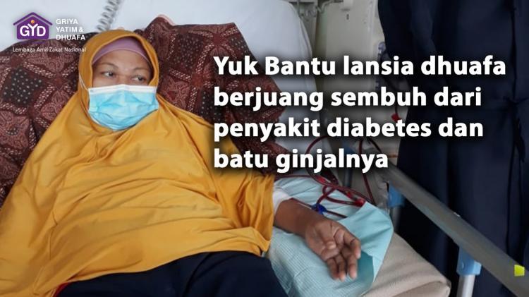Banner program Lansia Dhuafa Sembuh Dari Penyakit Komplikasi