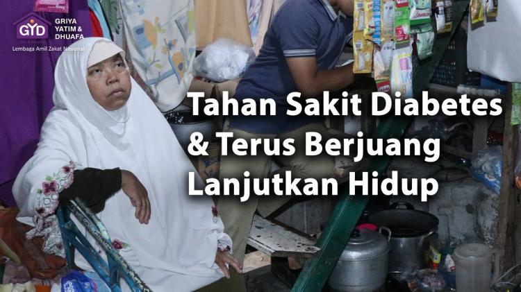 Banner program Tahan Sakit, Lansia Dhuafa Lanjutkan Hidup