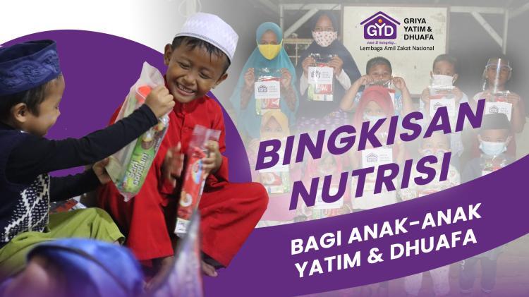 Banner program Bantu Penuhi Nutrisi Yatim dan Dhuafa