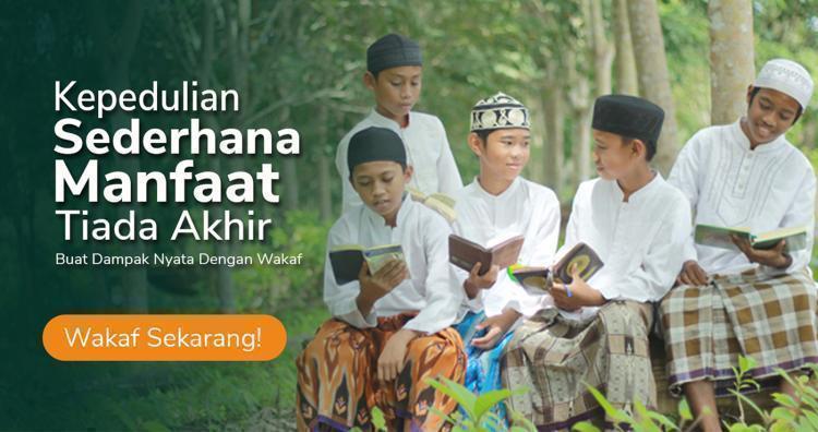 Banner program Wakaf Produktif