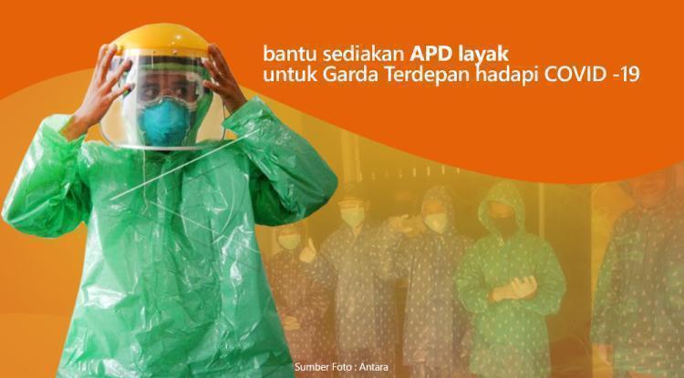 Gambar banner Getir, Tim Medis Membuat APD Sendiri