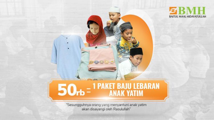 Gambar banner Ribuan Hadiah Pakaian untuk Anak Yatim dan Dhuafa