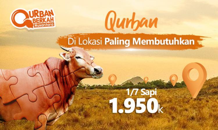 Gambar banner QURBAN SAPI KOLEKTIF