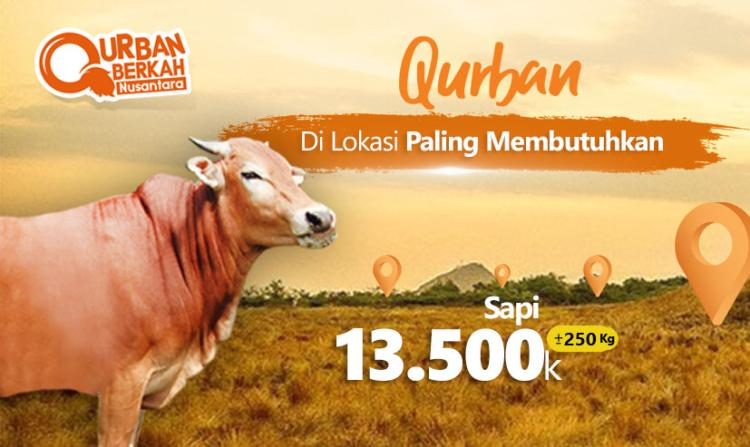 Banner program Qurban Sapi