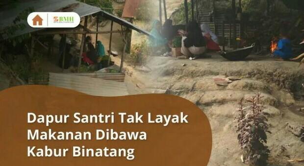 Banner program Selamatkan Makanan Santri dari Hewan Liar