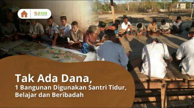 Banner program Bantu Bangun Masjid untuk Para Santri di Baruga