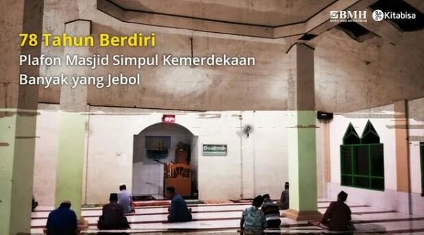 Gambar banner Bantu Renovasi Masjid Simpul Kemerdekaan