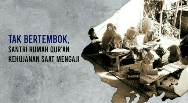Banner program Bantu Wujudkan Rumah Quran Lereng Gunung Wilis