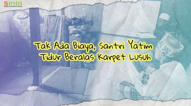 Banner program Wujudkan Asrama Pesantren Tahfidz Rahmatullah