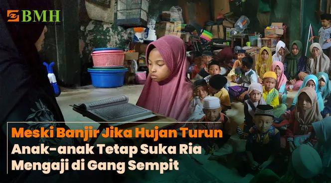 Banner program Wujudkan Rumah Quran Kp Nelayan