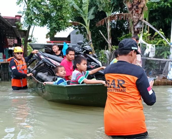 Gambar banner Bantu Korban Banjir di Kudus