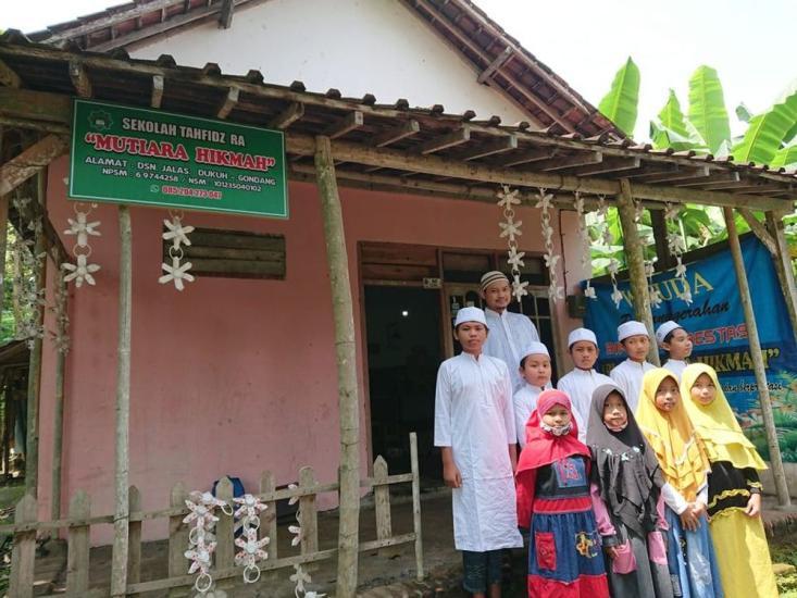 Banner program Bangun Rumah Quran Layak di Pelosok Tulungagung