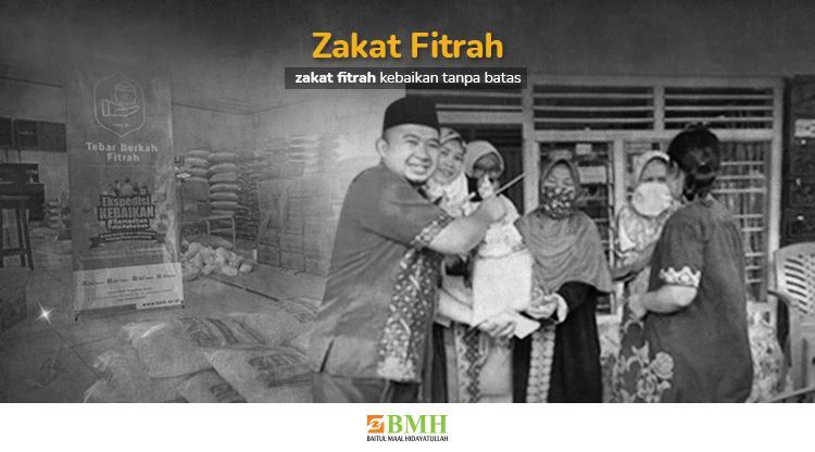 Banner program Zakat Fitrah Kebaikan Tanpa Batas