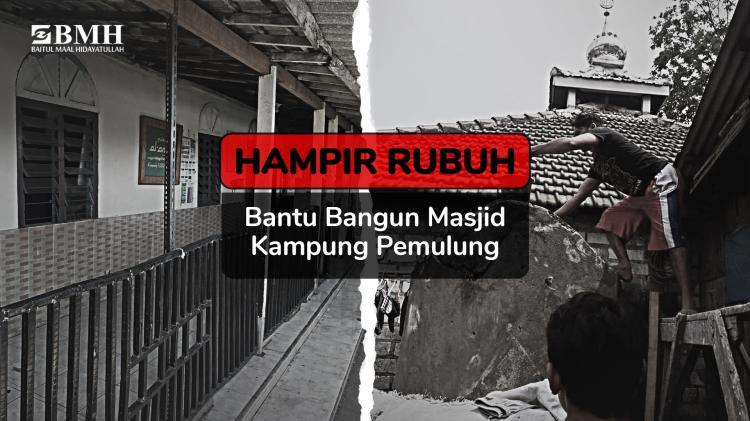 Banner program Wujudkan Masjid Layak Kampung 1001 Malam