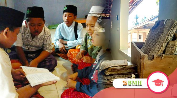 Banner program Sedekah Al-Quran Santri Pelosok Jawa Timur