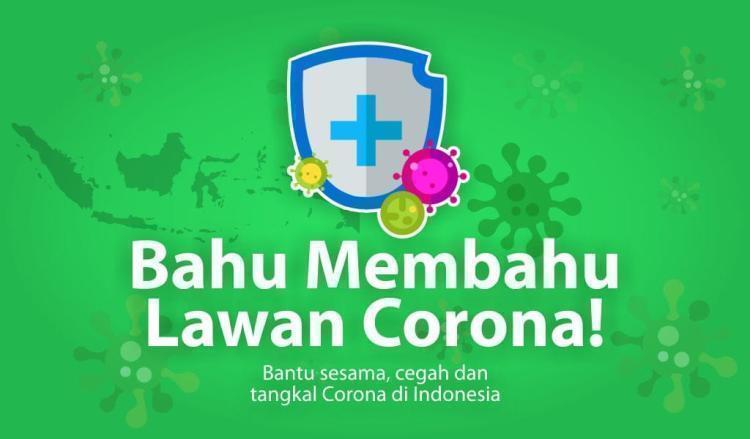 Banner program Bantu masyarakat terdampak pandemi covid-19