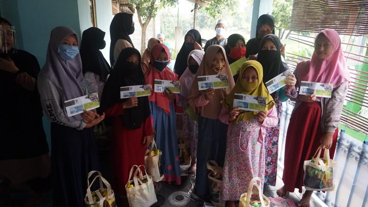 Banner program Infaq untuk Yatim