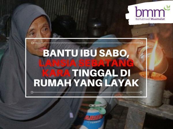 Banner Program BISA BANGUN RUMAH HARAPAN NENEK SABO DAN LAINNYA                                      title=