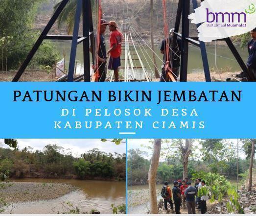 Banner Program BANGUN JEMBATAN DI PELOSOK DESA                                      title=