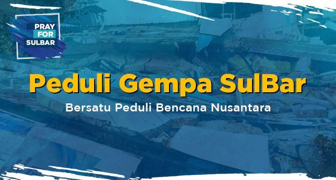 Banner program Bersatu Peduli Bencana Nasional