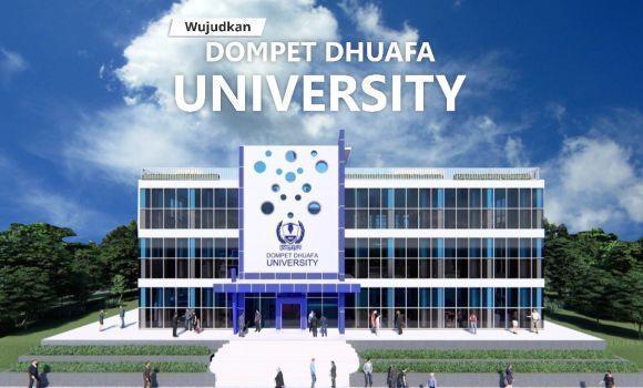 Banner program Wujudkan Dompet Dhuafa University