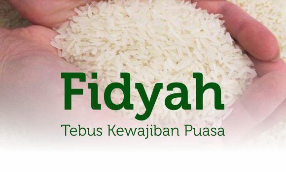 Banner program Tebus Kewajiban Puasa dengan Fidyah