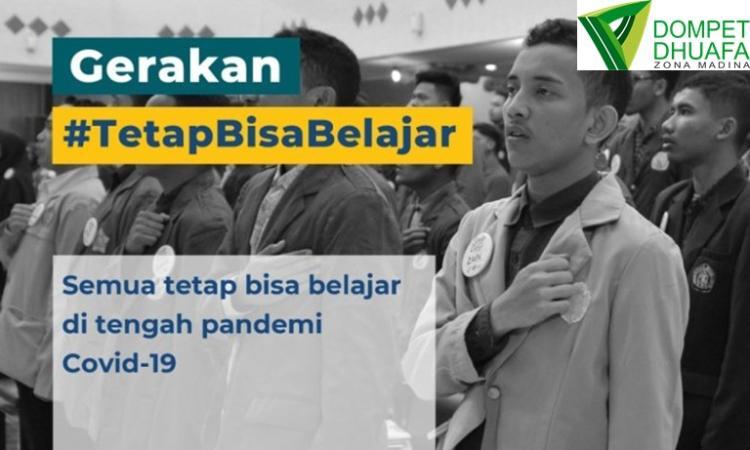 Banner program Bantu 100 Pelajar Tetap Belajar di Tengah Pandemi
