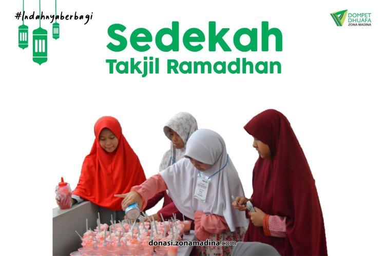Banner program Sedekah Takjil Ramadhan