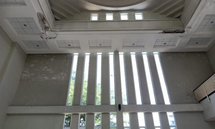 Banner program Sedekah Perbaikan Musholla dan Masjid