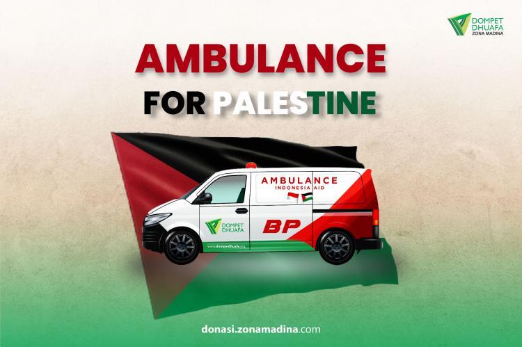 Gambar banner Ambulance for Palestine