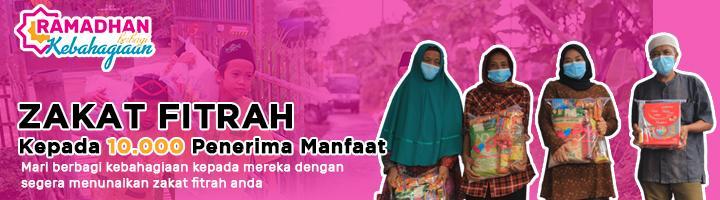Banner program Zakat Fitrah