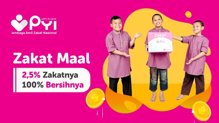 Banner program Zakat Bahagia Berdaya Melalui PYI