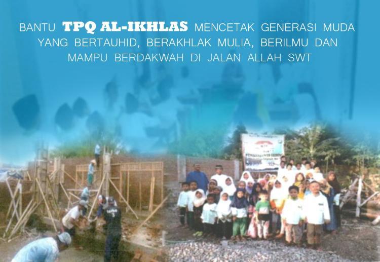 Gambar banner Bantu TPQ Al-Ikhlas dalam membentuk generasi unggul Islam di Indonesia