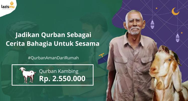 Gambar banner Qurban Kambing Dalam Negeri Harga Rp. 2.550.000,-