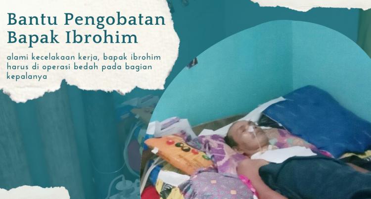 Gambar banner Bantuan Pengobatan Bapak Ibrohim