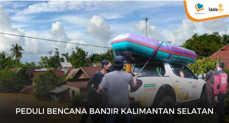 Gambar banner PEDULI BENCANA BANJIR KALIMANYAN SELATAN