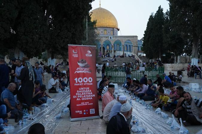 Banner program Ramadhan Peduli Syam