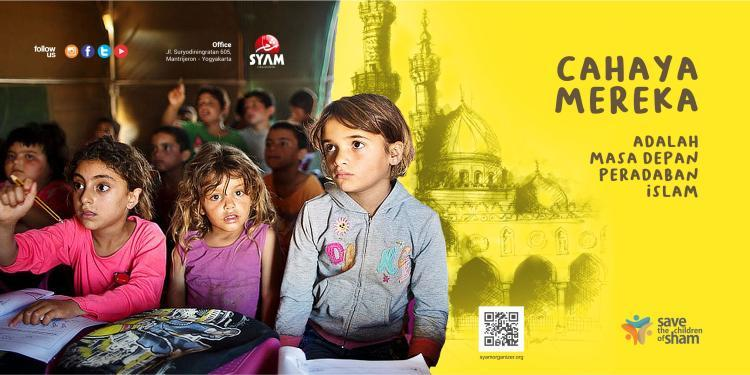 Banner program Save Children of Sham