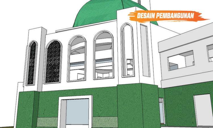 Gambar banner Dukung Pembangunan Masjid Al Azhar Galuh Mas Karawang
