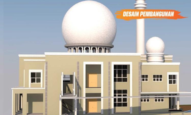 Gambar banner Dukung Pembangunan Masjid Raya Al Azhar Tangerang Selatan
